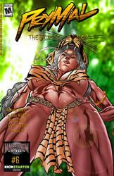 Prymal: The Jungle Warrior #6 Upshot cover