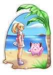 Pokemon - Lillie and Clefairy