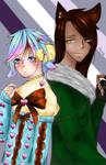 Ritsu and Akiyoshi
