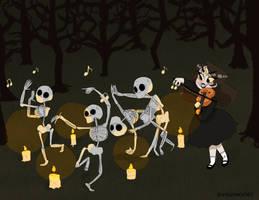 Celines Danse Macabre by KawaiiAkumma