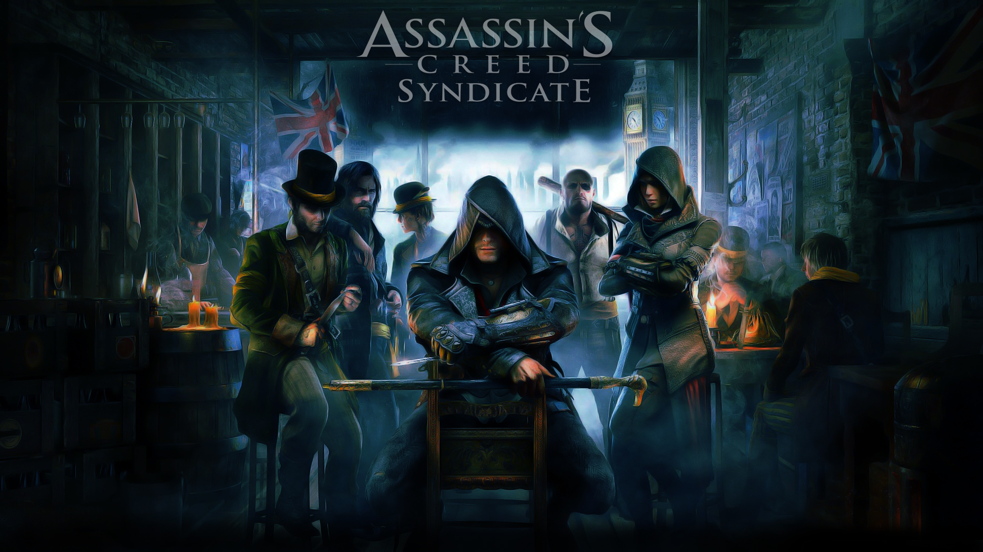 Assassins Creed Syndicate Wallpaper Cartoon Edit By Dougleino On Images, Photos, Reviews