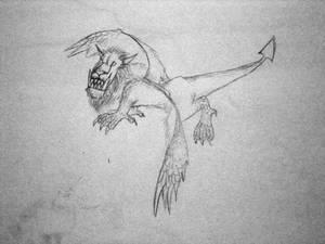 Lion-Griffin-Dragon-Manticore-Beast, c. 1996