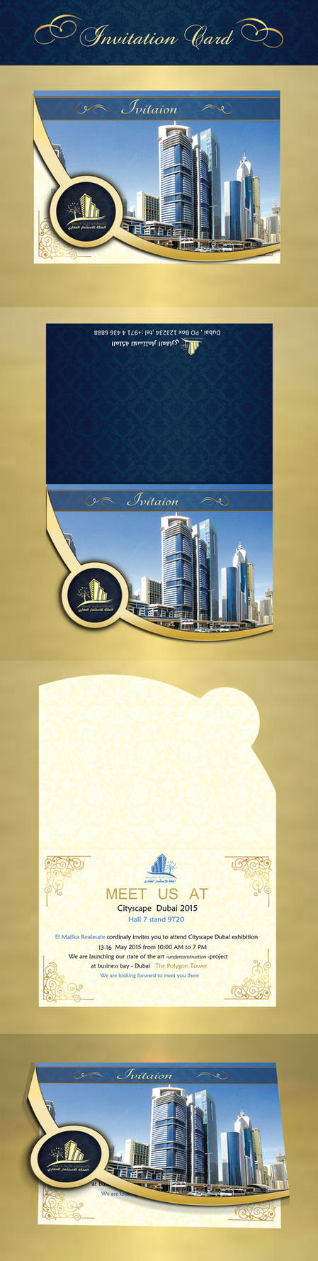 Invitation Card by dinaTahoun
