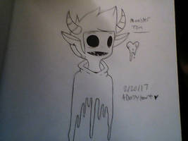 Monster Tom by ADerpyHeart