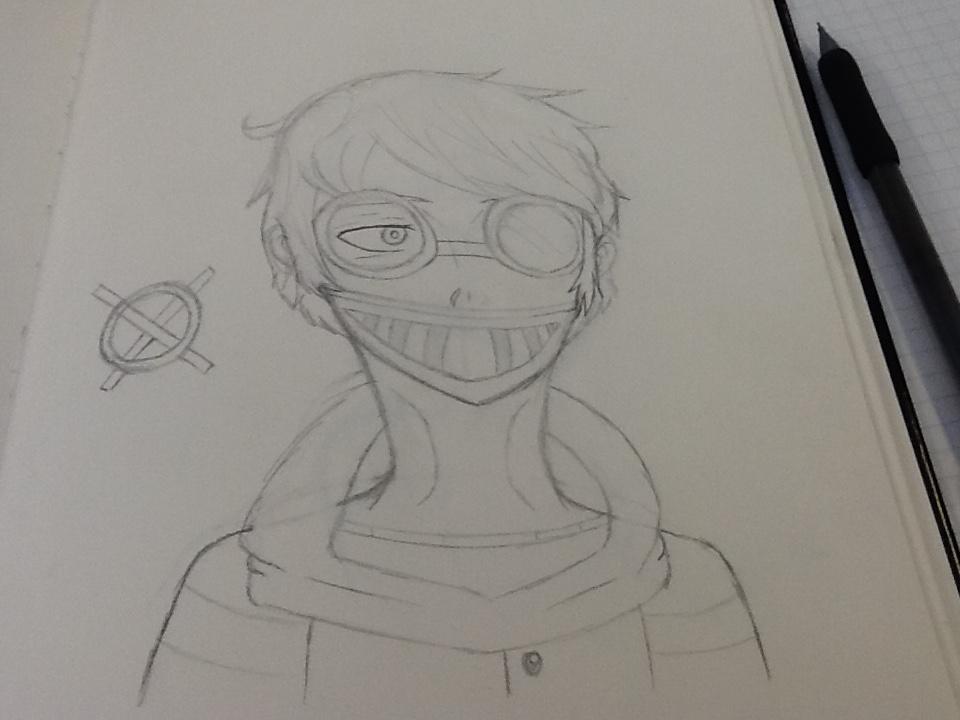 Hey, I'm Toby (Redraw W.I.P) by ADerpyHeart