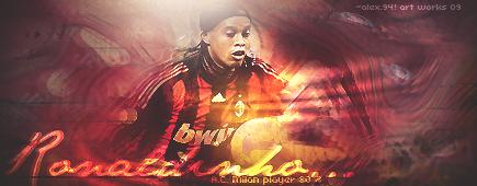 Ronaldinho by Alejandro94Taker