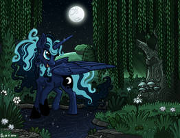 Princess Luna Stardust by Ithlini