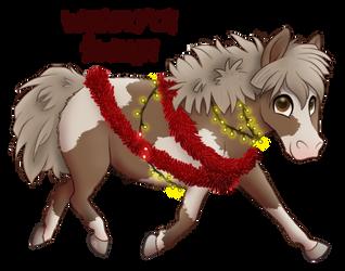 Christmas Pony by Ithlini