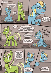 My Little Pony Comic PAGE 3 - The Outside by Ithlini