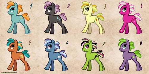 [CLOSED] Free Pony Adopts 1 by Ithlini