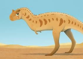 Sarcastic Carnotaurus