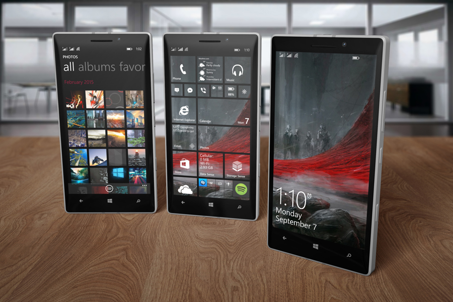 Lumia 930 Mockup by Kipet