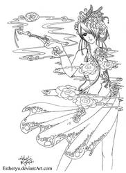 Lady God of Smoke by Estheryu