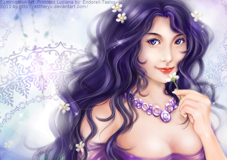 Princess Luciana by Estheryu
