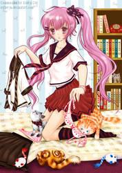 School Girl by Estheryu
