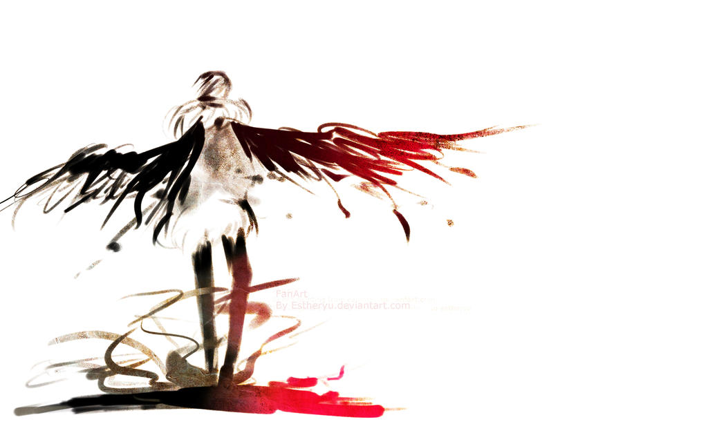 speed paiting- Wallpaper Sketch by Estheryu