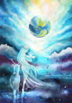 Vegan paradise Earth
