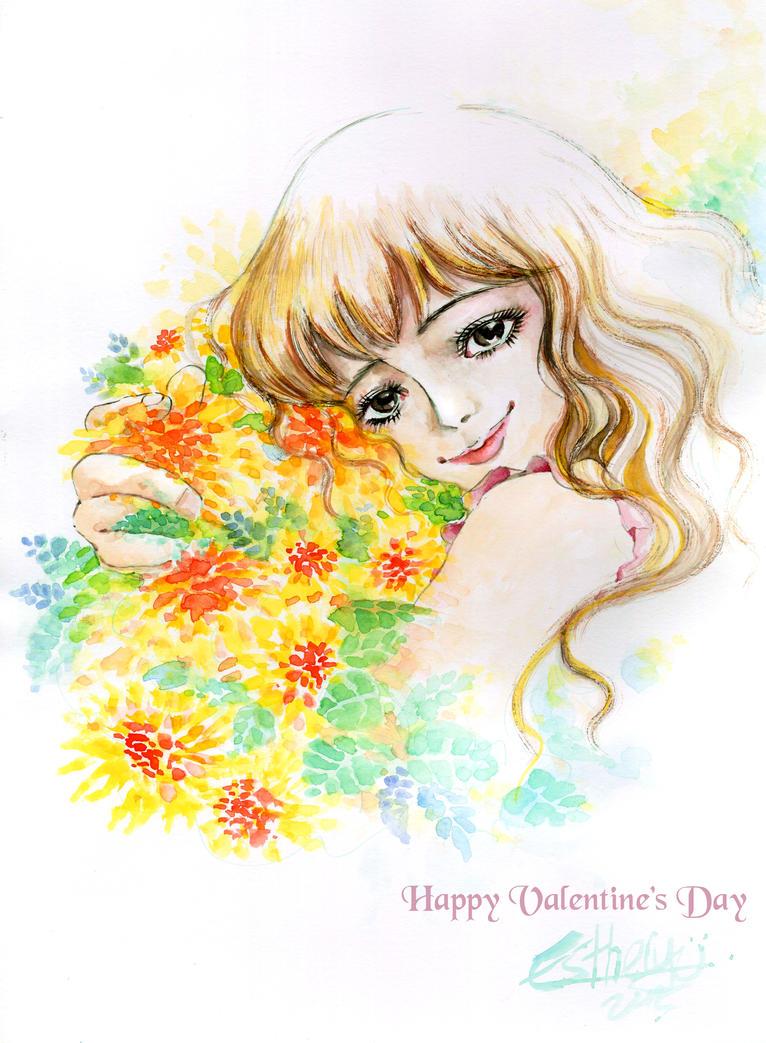 Happy Valentine Day by Estheryu