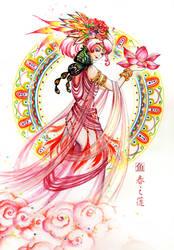Lotus Spring by Estheryu