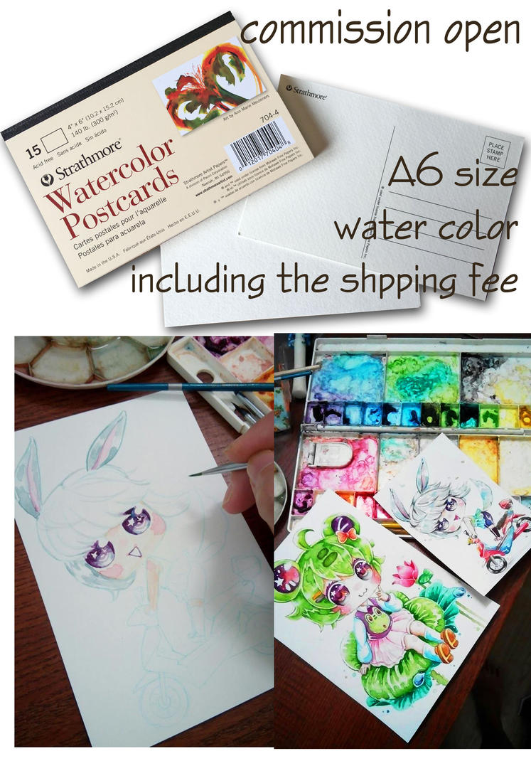 Watercolor Postcards Copy by Estheryu