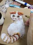 Painting cat