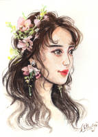 Portrait painting by Estheryu