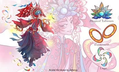 Arcane idol design by estheryu