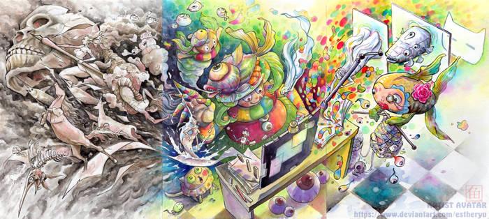 Artist Avatar : The Monster Fish Artist