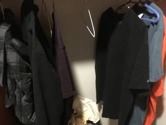 My shirts hung up by shyho