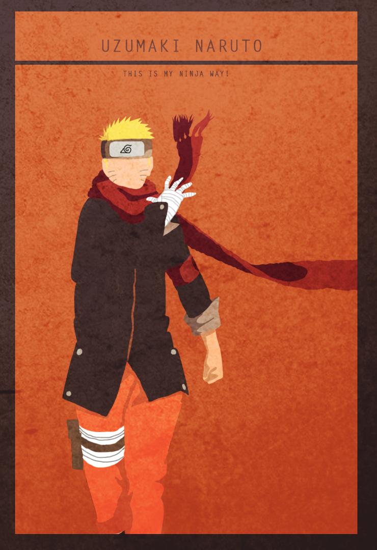 Good Wallpaper Naruto Minimalistic - uzumaki_naruto___minimalist_wallpaper_by_lubans-d8mm2sc  Graphic_96772.png