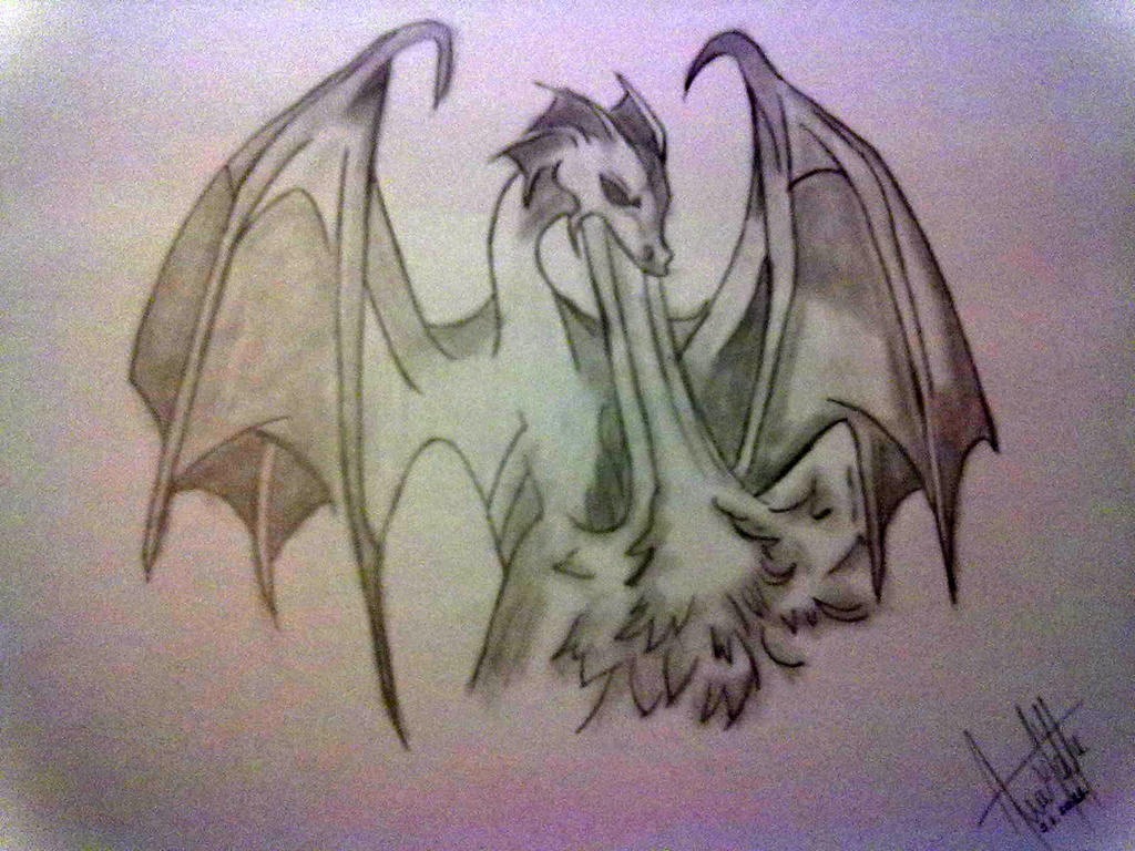 Dragon blowing fire by WraithOfTheNight on DeviantArt Drawings Of Dragons Blowing Fire For Kids