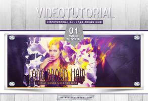 Videotutorial 04 - Long Brown Hair by nk-ash