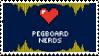 Pegboard Nerds Fan Stamp by Transsexual