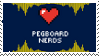 Pegboard Nerds Fan Stamp by Transsexual