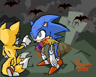 The Sonic Horror Picture Show by Slainmonkey