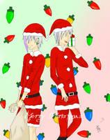 Secret Santa exchange with Meibatsu by Royal-Crown-Psycho