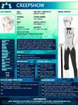 CreepShow SGPA profile 2012