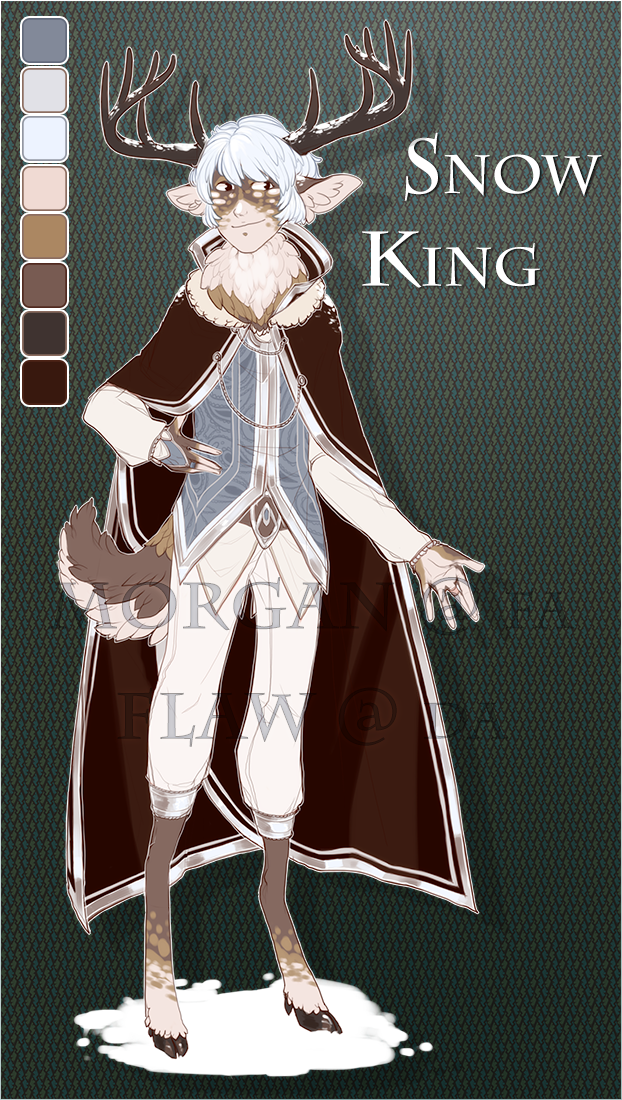 FLAT PRICED ADOPT - SNOW KING [OPEN] by flaw