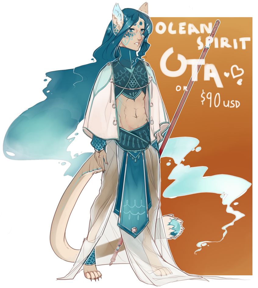 ocean spirit $90 OR OTA [OPEN] by flaw