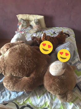 A Romantic Play with my Plush Pile (Censored/SFW)