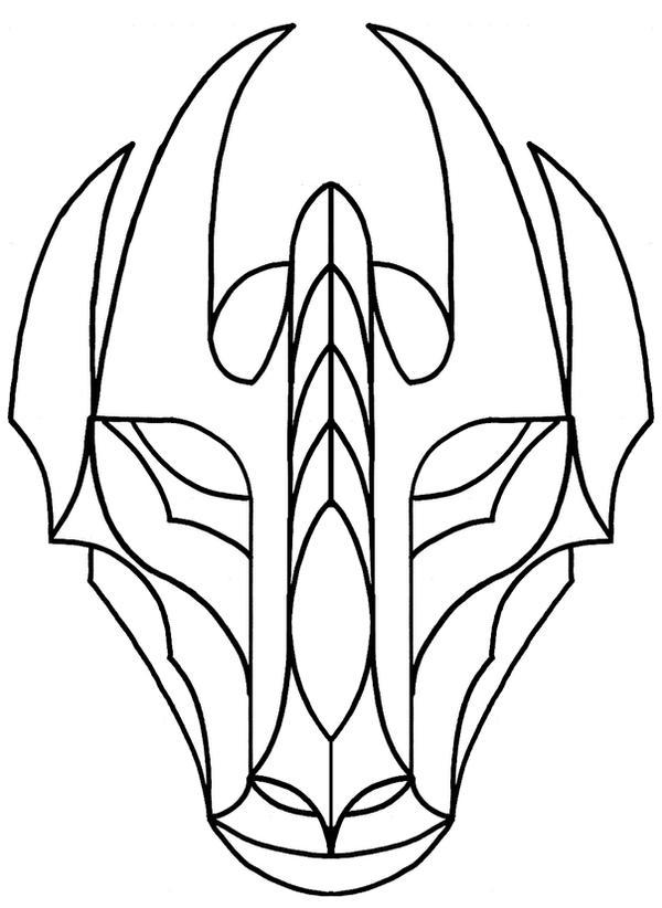 Printable Chinese Dragon Masks  Crafthubs