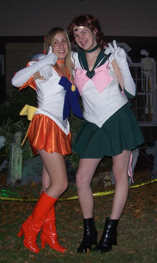 Sailor Scout Costumes by Amishanda ...  sc 1 st  DeviantArt & Sailor Scout Costumes by Amishanda on DeviantArt
