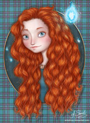 ...Merida... by ArinaFoxy