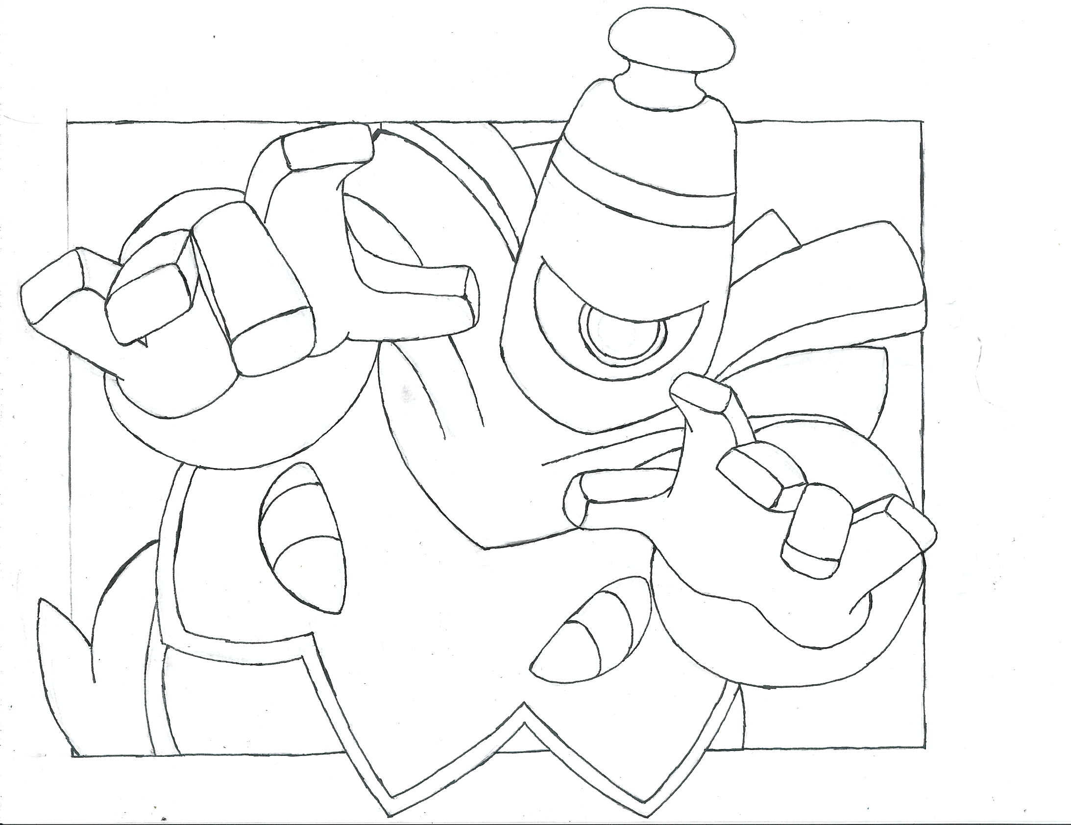 dusknoir pokemon coloring pages - photo#42