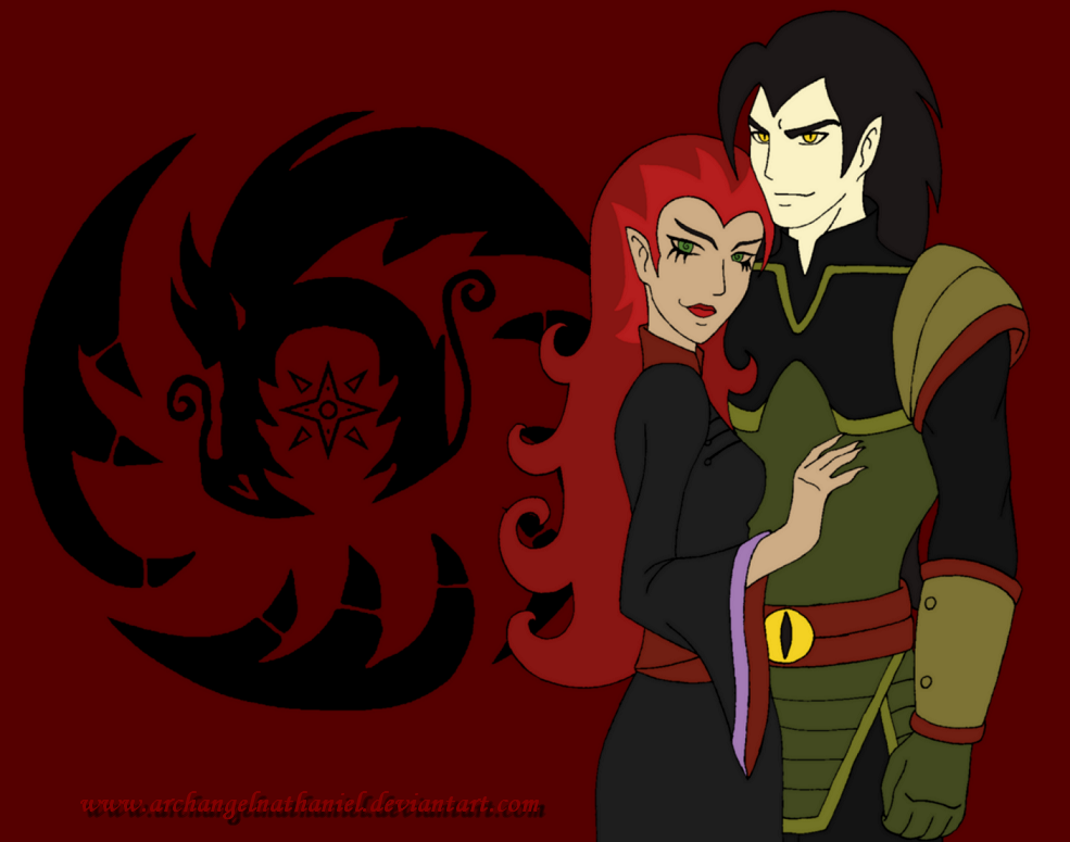 Xiaolin Showdown: Chase Young And Wuya by ArchangelNathaniel on ...