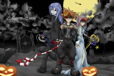 Halloween Hearts by Ani-Yume