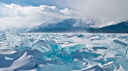 Ice hummocks by dshamanov