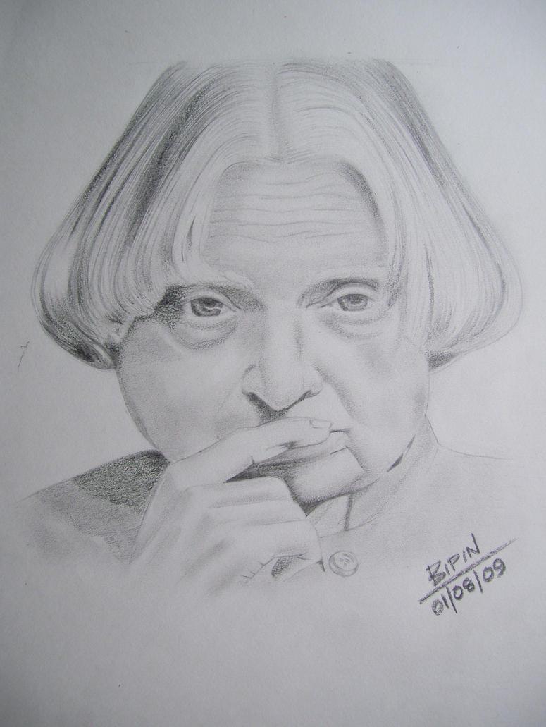 A P J Abdul Kalam by impeccablez on DeviantArt
