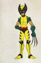 Young Logan - Imaginary Young X-Men