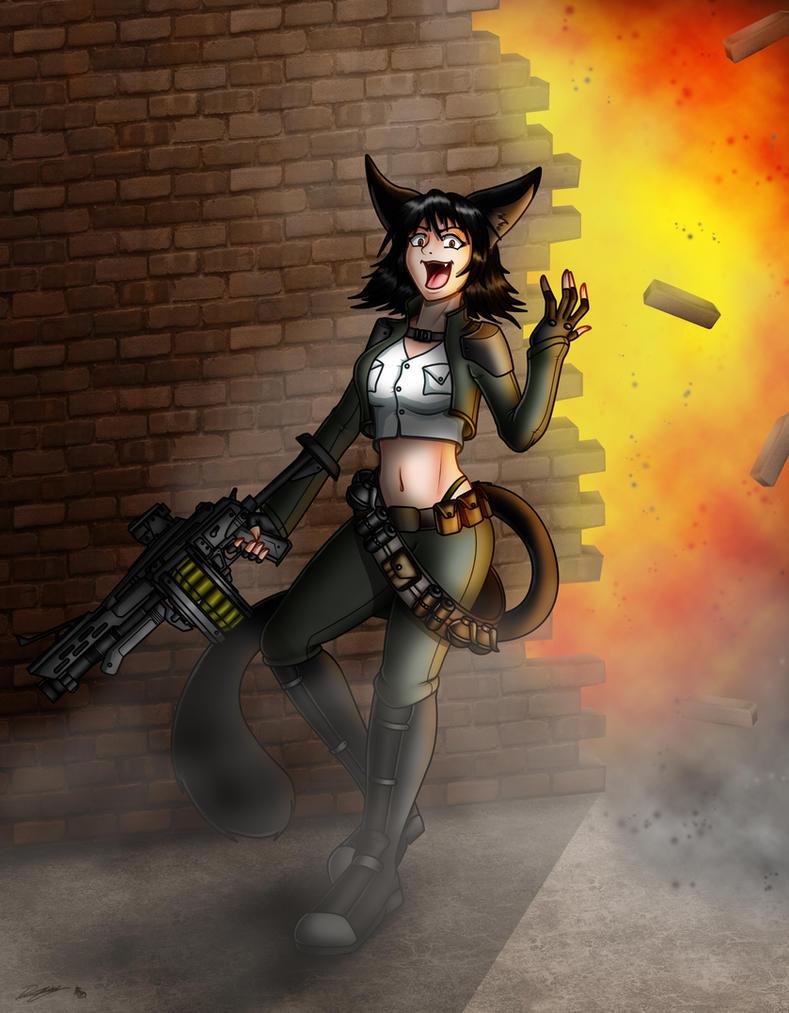 Commission_Samantha Glycer by Evil-Rick